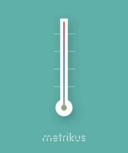Temperature monitoring from metrikus